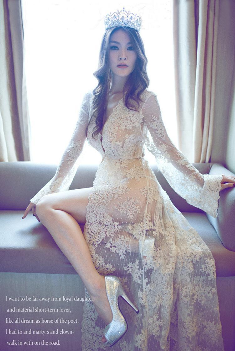 Женское платье Laisiyi Transperent Longue DR2031 DR2029 женская юбка laisiyi ol sk1062