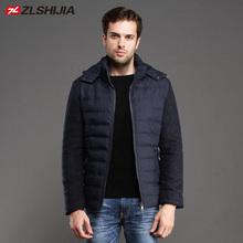 ZLSHIJIA down coat men jacket winter Fashionable&Casual Down Jacket men Windproof Outerwear men 33509231(China (Mainland))