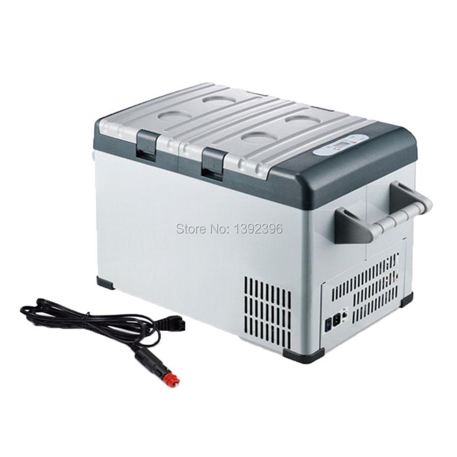 Car mini refrigerator portable freezer defrost fridge cooler box for insulin dc 12v rapid cooling 25L(China (Mainland))
