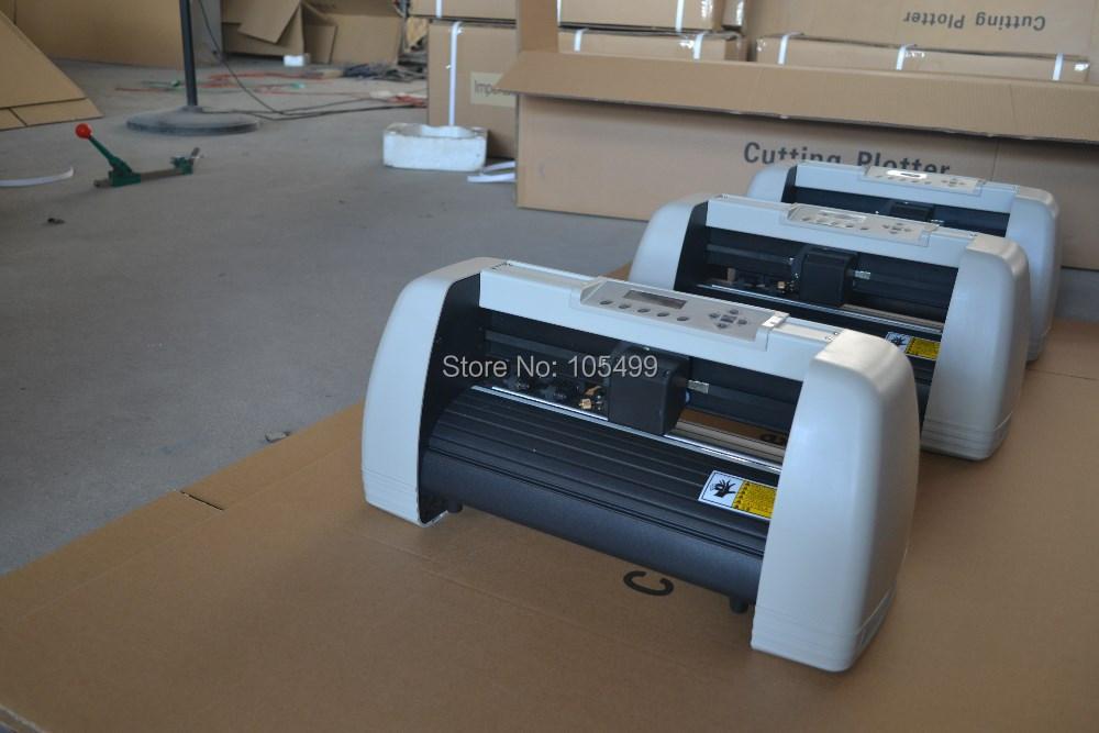 2014 new model cheap vinyl cut plotter machine cutting ploter a3 free ship argentina(China (Mainland))