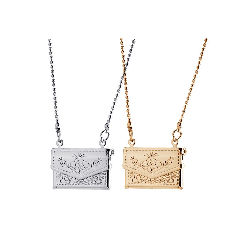 Factory Outlets Open Square Vintage Floating Locket Charms Photos Necklaces & Pendants 18K Gold Fashion Jewelry A64(China (Mainland))