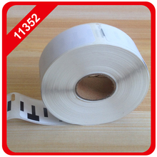 4 X rolls 11352 Multipurpose Labels Compatible for DYMO ,54mm*25mm*500 pcs per roll, (dymo labels 11352) free shipping