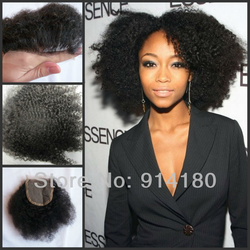 Filipino Virgin Hair Unprocessed Afro Kinky Curly Human Hair 3Pcs Lot 8''-30'' Natural Color 1B Good Weave Afro Hair Extensions