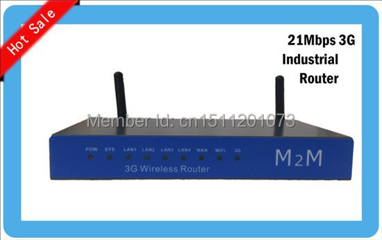 3G LTE TDD WCDMA WIFI 4 LAN port 3G wifi vpn cpe industrial router(China (Mainland))