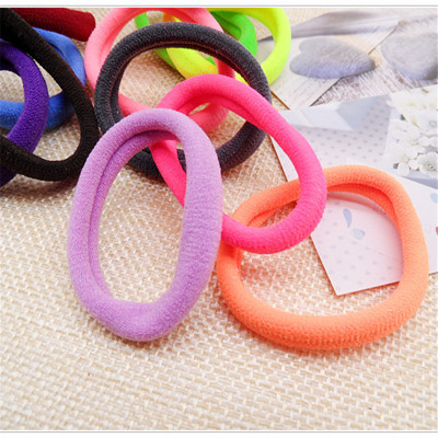 New Style Colorful Random Baby Hair Accessories Good Elastic Children Hair Band rope Kid Headdress acessories Gum for hair ties(China (Mainland))