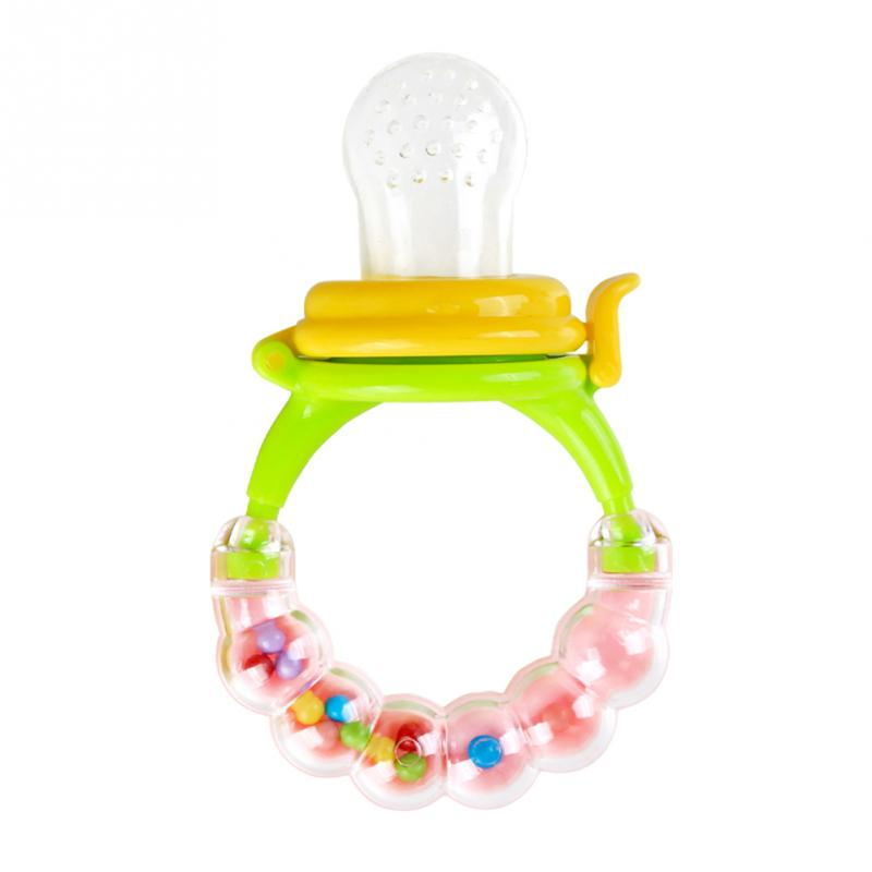 Mambo Portable Baby Fruit Treasure Nipple Feeder Silicone Pacifier Fruits Feeding Supplies Soother Nipples Soft Feeding Tool
