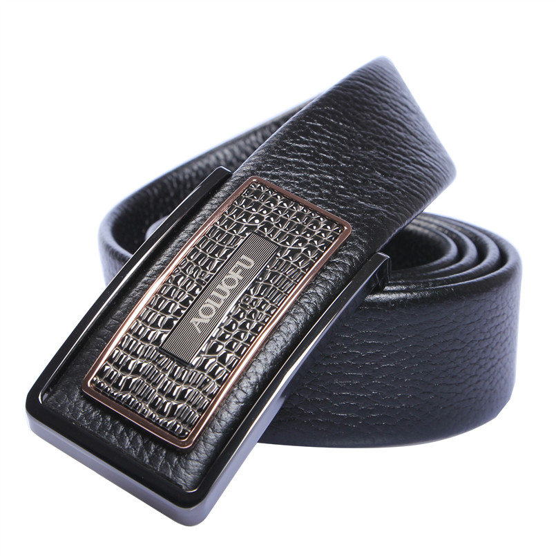 famous designer belts f407  2015 Ceinture Homme Famous Brand Men Luxury Belts Genuine Leather Designer  110cm-125cm Slide Buckle