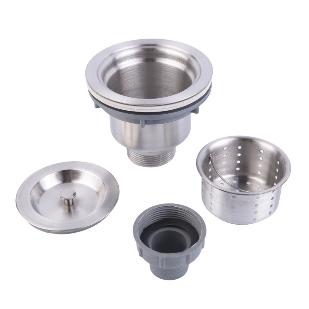 2016 popular new stainless steel kitchen sink drain for 2 kitchen sink drain