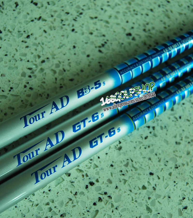 New Tour AD BB-5/GT-6 Golf shaft 6pcs/lot wood/Driver clubs shaft  Regular or Stiff flex Golf  Graphite shaft  Free shipping<br><br>Aliexpress