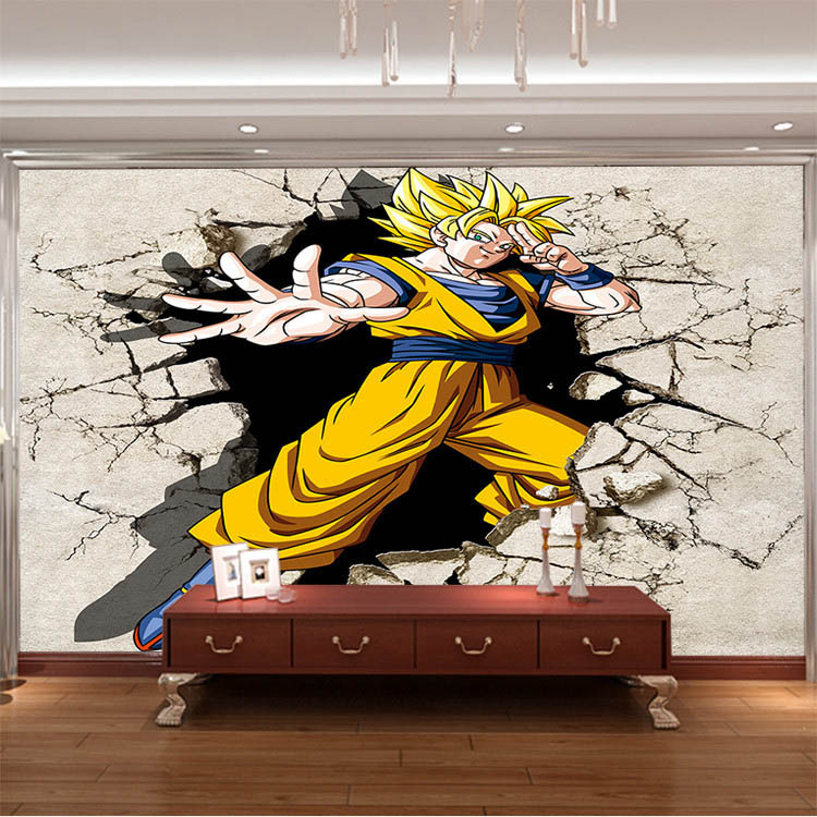 Achetez en gros dragon ball bedding en ligne des for Decoration murale naruto