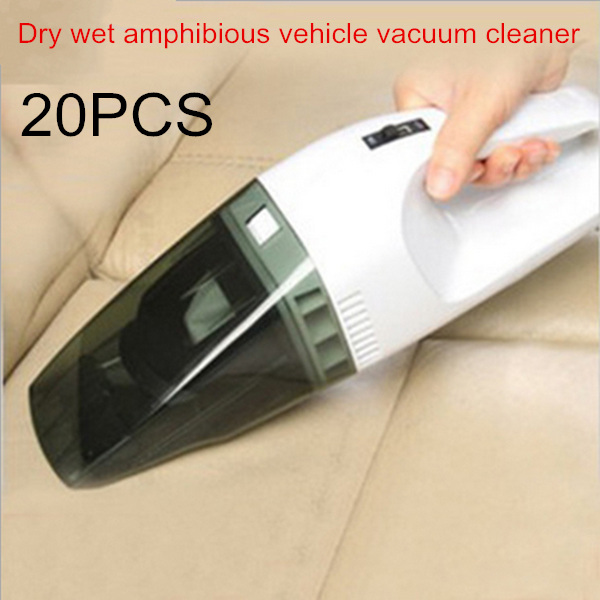 The vacuum cleaner uses 60 watts power auto mobile car, dry wet amphibious vehicle vacuum cleaner.33*8*9CM 20PCS(China (Mainland))
