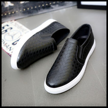 2016 Pu Rubber Slip-on Yeezy Shoes Men New Design Genuine Lazy Sewing Leisure Folding Driving Comfortable Loafers For Moccasins(China (Mainland))
