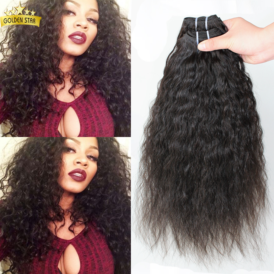 Brazilian Super Wave 4pcs Wet And Wavy Virgin Bundles Unprocessed Virgin Brazilian Hair  Human Hair  weaving natural color <br><br>Aliexpress