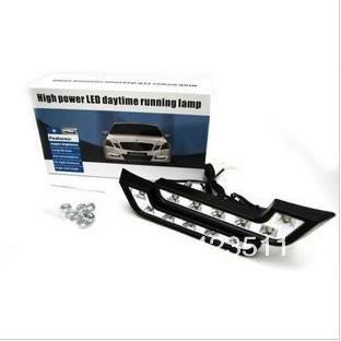 GenuineCar LED Daytime Running Fog Light Kit EURO DRL DAY LIGHT free shipping