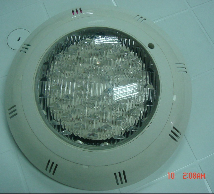 ABS swimming pool underwater lights Wall lights colorful or monochrome swimming pool equipment LED energy-saving lamps(China (Mainland))