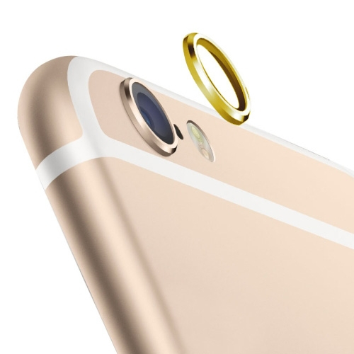 Rear Camera Lens Guard Ring for iPhone 6 Plus Unique Camera Lens Protect Cover Ring Skin Luxury Gold