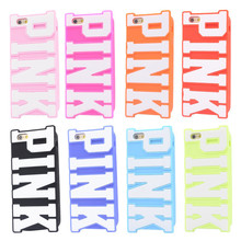 New Fashion 2014 Victoria/'s Secret PINK Luxe Soft Silicone Case Cover skin funda for Apple iPhone 5 5S Case Cartoon Phone Cases