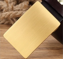 Buy solid brass buckle belt men mens belts luxury high full grain cowhide genuine leather casual fashion 2017 new design for $22.77 in AliExpress store