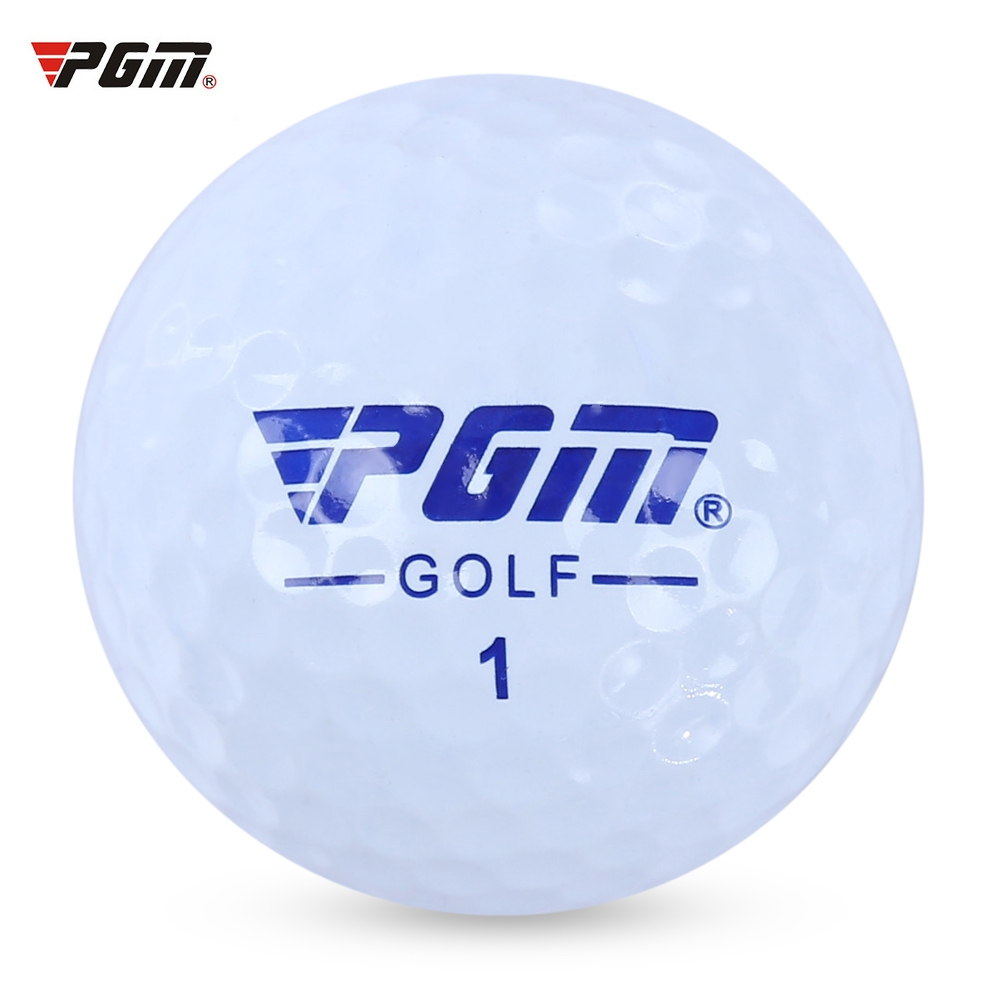 PGM Q001 3pcs Soft Durable High-lift Aerodynamics Practice Golf Ball with Double Layer for Golf Training Golf Sport (White)(China (Mainland))