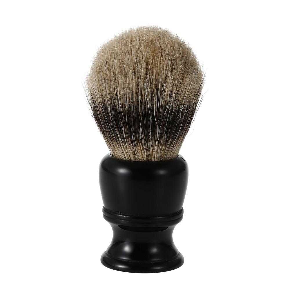 High Quality Men's Fashion Brown Soft hair/Beard Shaving brush Wood Shaving handle Best Pure Badger Hair For Men Shaving brush(China (Mainland))