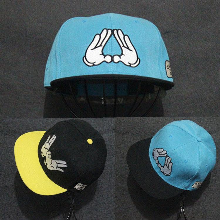 2015 Fashion Cayler Sons Finger Embroidery Hip hop Hats Skateboard Baseball Caps Toucas Men Women Bones Gorras Snapbacks - BIVIGAOS Trend Store store