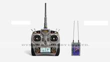 Detrum Gavin-6C 2.4G 6-Channel Transmitter Tx Mode1 RXC7 2.4GHz 7-Channel Receiver Rx Combo(China (Mainland))