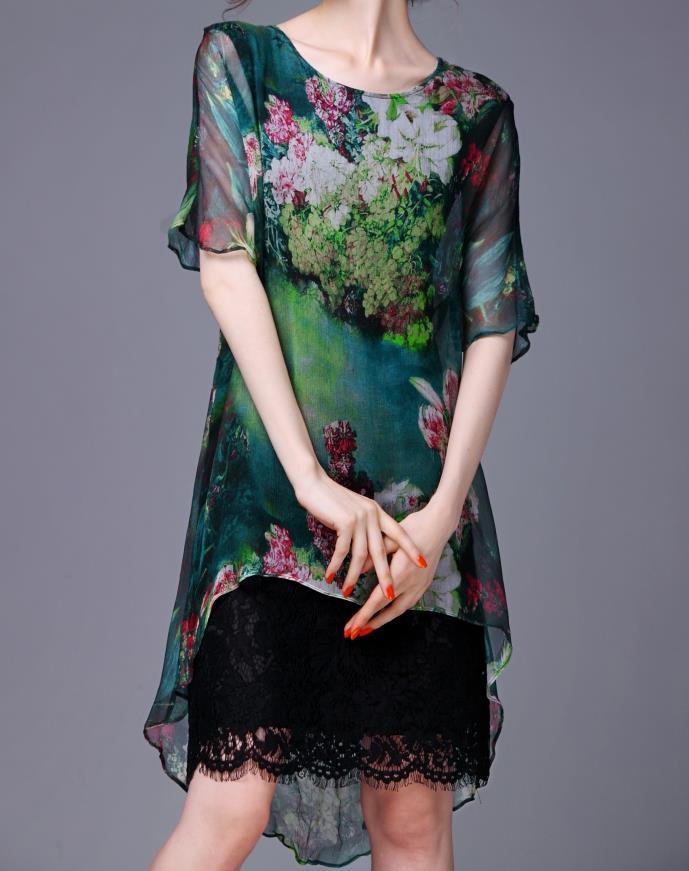 Summer Style Women Dress 2015 Harajuku Beach Dress Vintage Printed Party Dresses Desigual Robe Femme Vestido De Renda Plus Size