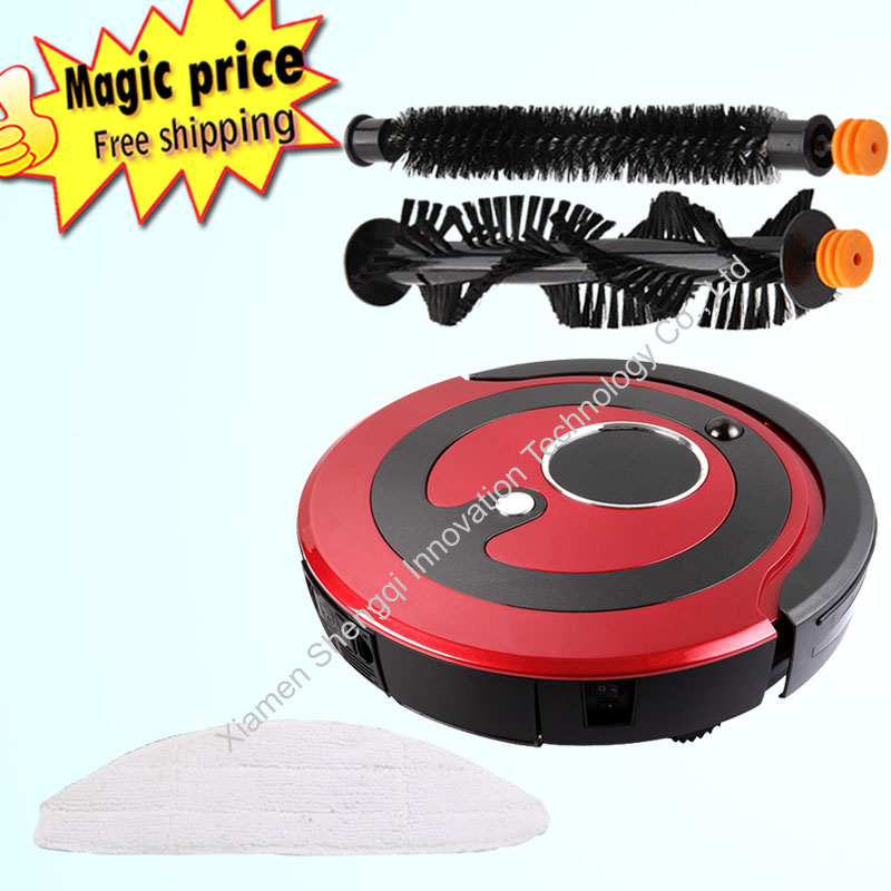 Automatic Recharge Schedule Multifunctional Intelligent Cleaning Robot Vacuum Cleaner aspirateur balai(China (Mainland))