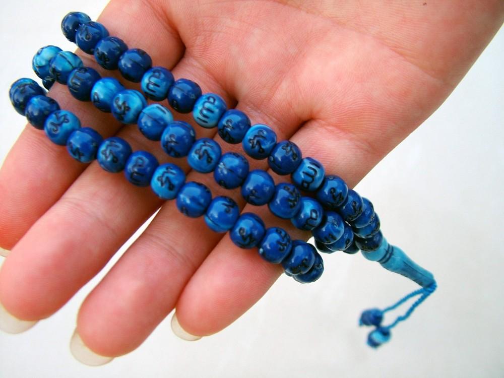how to make tasbih bracelet