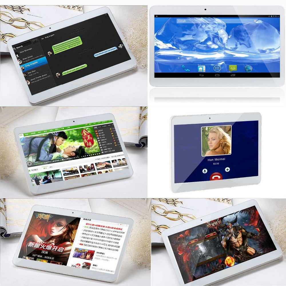 3G Phone Call Android Quad Core Tablet pc10 inch Android 4 4 2GB RAM 16GB ROM