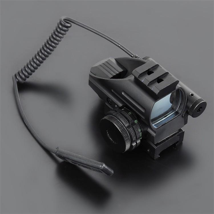 Mini Red Dot LLL Night Vision Laser Sight Air Rifle Gun Riflescope Outdoor Hunting Telescope Sight Sight Gunsight