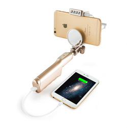 Rechargeable USB Charge with battery Selfie Portable LED Ring Fill Light Camera for iPhone Android Phone