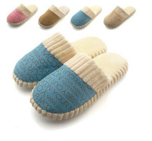 2015 new arrival winter women slippers lover unisex fashion warm cotton-padded at Home Slippers Indoor Shoes plush men slippers(China (Mainland))