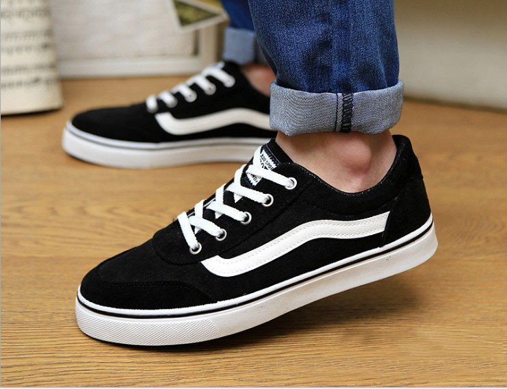 2014 new men casual fashion shoes spring and summer canvas