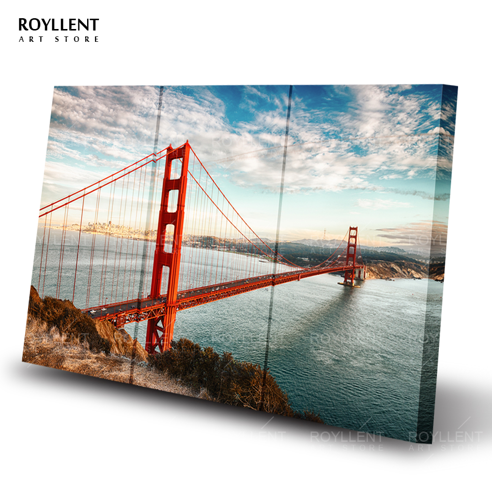 Art For Living Room Golden Gate Bridge