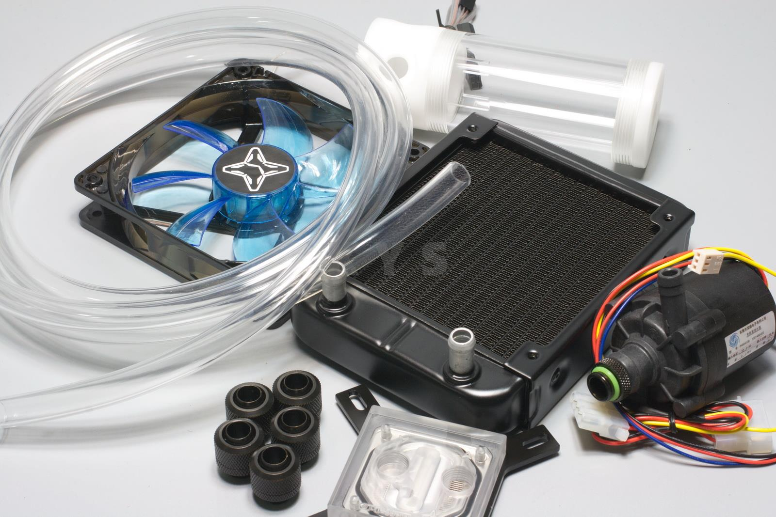 Pc pendingin air kit untuk cpu model