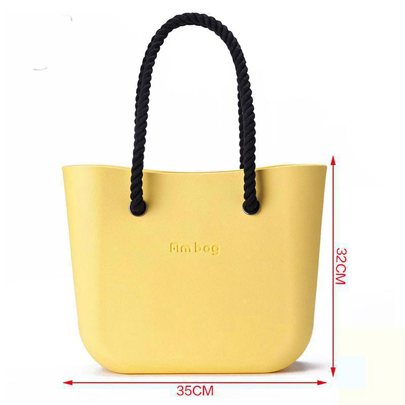 DIY Beach O Bag Price Women's Bags Fashion Obag Big Ambag Insert Handles Accessories Waterproof EVA Plastic Dollar Price Bolsos(China (Mainland))