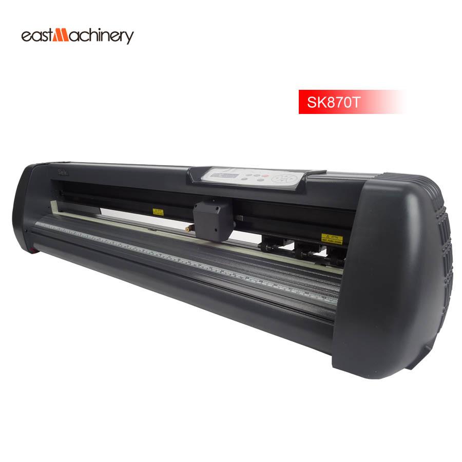 Cutting plotter 60W cuting width 760mm vinyl cutter Model SK-870T Usb Seiki Brand high quality 100% brand new(China (Mainland))