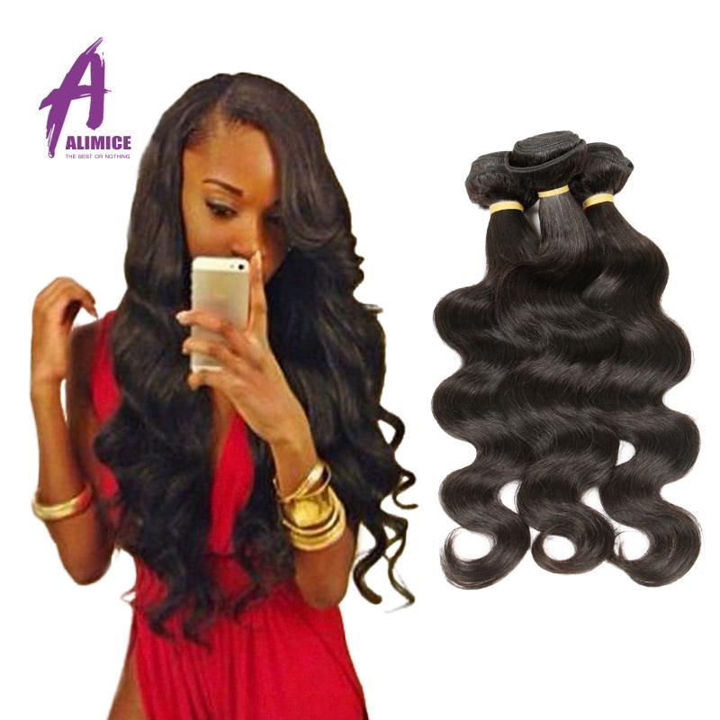 Brazilian Virgin Hair Body Wave 3 Pcs Rosa Hair Products Cheap
