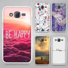 Buy happy Hard White Case Cover Samsung Galaxy J1 J2 J3 J5 J7 C5 C7 C9 E5 E7 2016 for $1.49 in AliExpress store
