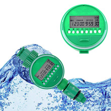 1pc LCD Waterproof Home Automatic Electronic Water Timer Garden Irrigation Controller Digital Intelligence Watering System(China (Mainland))