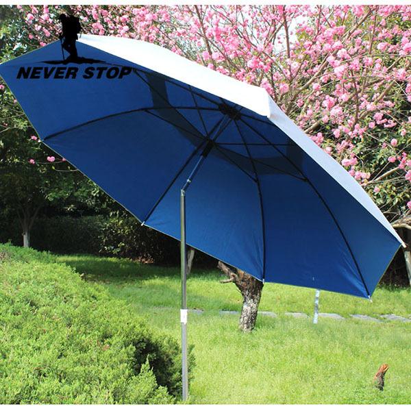Patio Umbrella Uv Protection: Portable Outdoor Fishing Umbrella Adjustable UV Protection