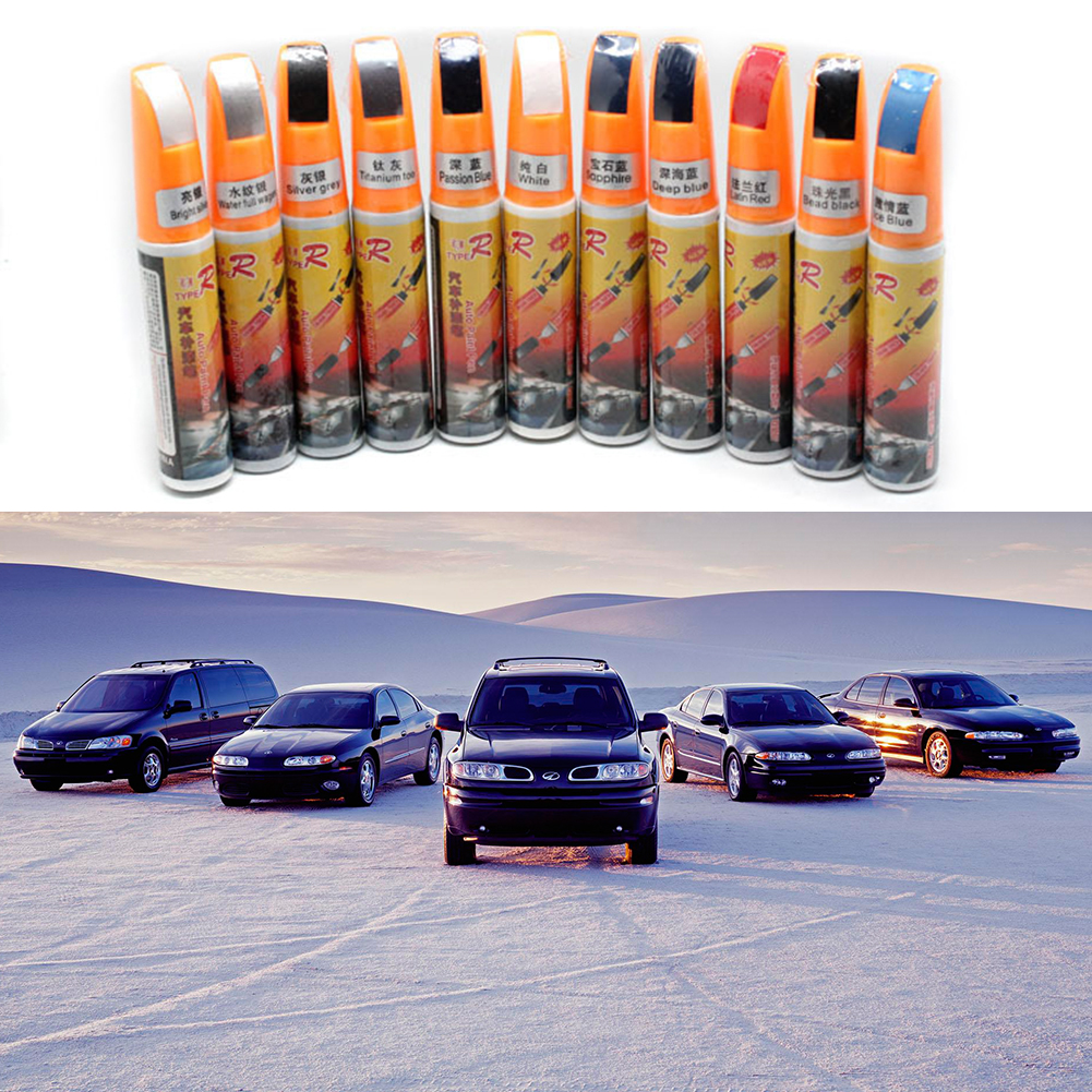 11 Colors Mending Car Remover Scratch Repair Paint Pen Clear Car Scratch Repair Pen Paint Repair Pen for All Kinds of Cars(China (Mainland))
