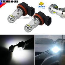 Buy 2pcs Super Bright 6000K Xenon White CRE E XB-D H8 H11 H9 H16, JP LED Replacement Bulbs Fog Light Driving Lamps for $22.24 in AliExpress store