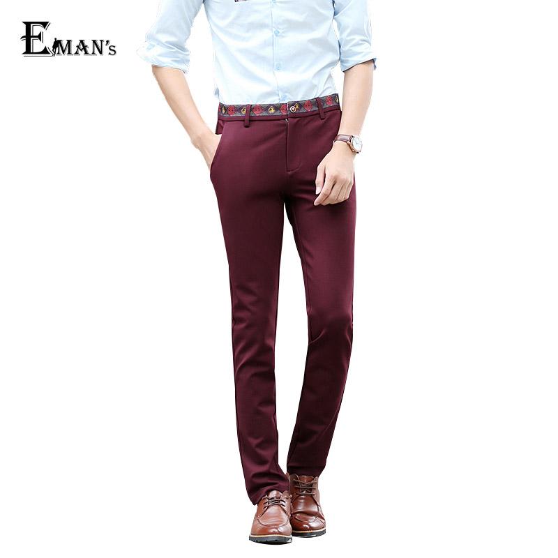 2016 New Arrival Men Casual Pants Plus Size 28-40 Fashion Korean Style Multi-Color Mens Dress Chino Pants XK136Одежда и ак�е��уары<br><br><br>Aliexpress