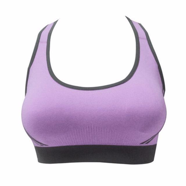 Multicolor Fitness Sports Bra