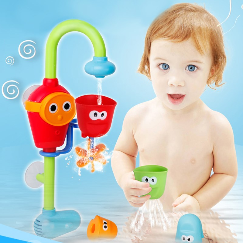 Baby Children Non Toxic Bath Toys Spray Bathing room Shower Accessories Funny Lovely Bath Toy Gift For Children Kids(China (Mainland))