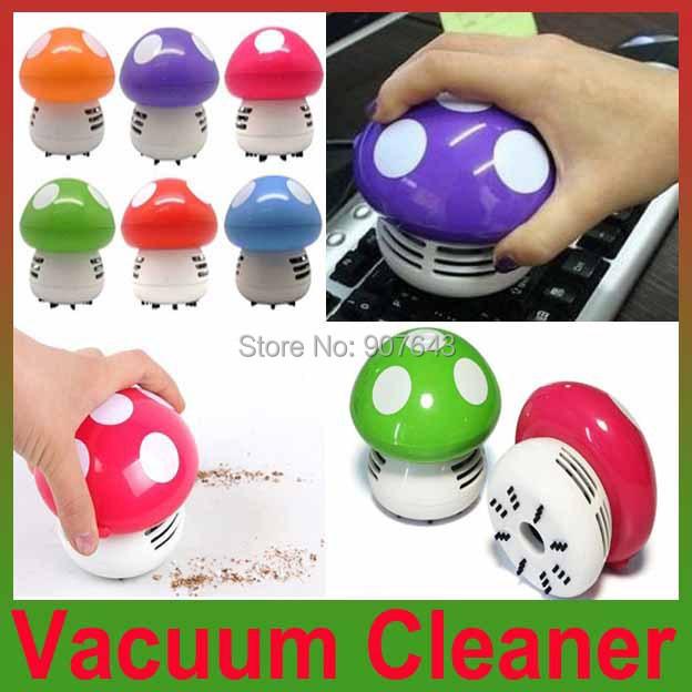 2014 New Mini Home Handheld Tabletop Vacuum Cleaner Mushroom Vacuum Car Laptop Dust cleaner Dropshipping(China (Mainland))