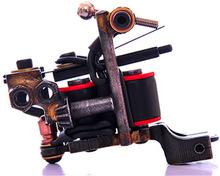 1pcs Professional Luo's Handmade Tattoo Machine Custom Cast Iron Luo  Tattoo Gun Supply(China (Mainland))