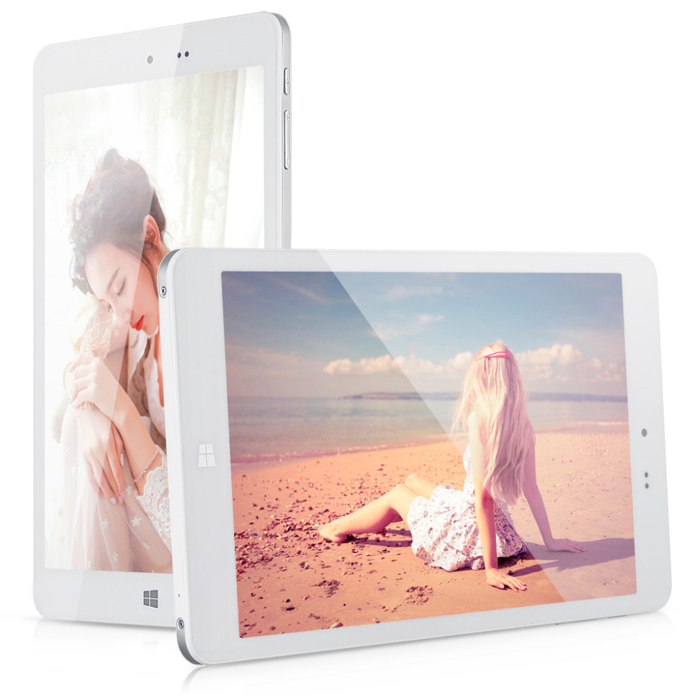 "Chuwi Hi8 Dual Boot Win10 + Android 4.4 8"" Tablets Intel Z3736F Quad Core 2.16GHz IPS Screen With 2GB RAM 32GB ROM Tablet PCs(China (Mainland))"